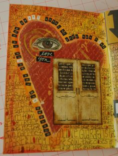 doors to my heart.  @Shauna (LilDuckieArts) lee lange arts advisory we're just fabulous visual curators.