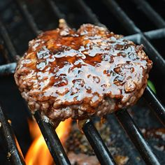 Jack Daniels Burger (TGI Friday's Copycat Recipe) My son makes this. It's wonderful!