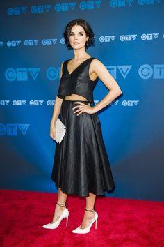 Jaime Alexanderat CTV Upfront in Toronto