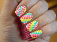 Looking to add a little color to your summer? Check out these fun neon nail art designs for some inspiration! Neon Nail Art, Neon Nails, Nail Art Diy, Diy Nails, Cute Nails, Pretty Nails, Rainbow Nails, Tribal Nails, Leopard Nails