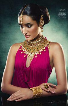 The Vogue India Wedding Book - September 2014 - Hazoorilal Legacy - http://hazoorilal.com