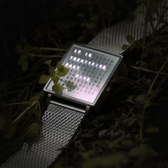 "Zamana bakışını değiştirecek gerçek bir arzu nesnesi. Qlocktwo kol, duvar ve masa saati modelleriyle shopigo.com ve Nişantaşı No:17 mağazamızda. / ""It's twentyfive past five."" A true desire object that will change your concept of time. Check our Qlocktwo collection on shopigo.com.  QLOCKTWO • W Fine Steel Kol Saati  #shopigo #shopigono17 #qlocktwo #watch #clock #wristwatch #timeinwords #words #steel #oclock #design #desireobject #stylish #time #date #seconds #minutes"