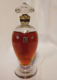 """Vintage LUCIEN LELONG PARFUM """"N"""", 3 oz Parfum / Perfume, Sealed Bottle Very RARE #LucienLelong"""