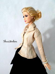 https://flic.kr/p/nBL4Jw | Dress Project : Christian Dior Barbie | I Love christian DIOR, so the style of the day is inspired by Christian Dior 1997 Barbie Doll
