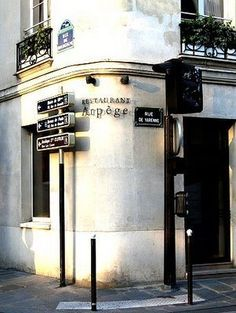 Restaurant L'Arpege by Alain Passard @84 rue de Varenne, Paris 75005.      The moment  One of the most unforgettable gastronomic experiences of my life. This 3-star michelin restaurant is an experience on its own. Small dining room is not cold and daunting like many similarly-starred restaurants in Paris.