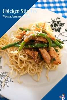 This chicken stir-fry gets done in 15 minutes and is better than any takeaway you can order. Made with chicken breast, fresh green beans, ginger, garlic, and few other pantry staples for flavor this is scrumptious, nutritious, and healthy #chicken #stirfry #chickenstirfry #stirfrychicken #bestchickenrecipes