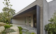 Petit mais parfaitement formé: une maison basse sur la péninsule de Mornington de l'Australie est d'une simplicité | Fond d'écran*