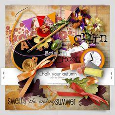 Chalk Your Autmn Collab Kit Elements by Sillwan