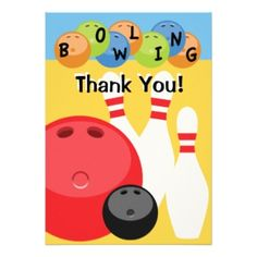Bowling Party Invitations, 1,500+ Bowling Party Announcements ...