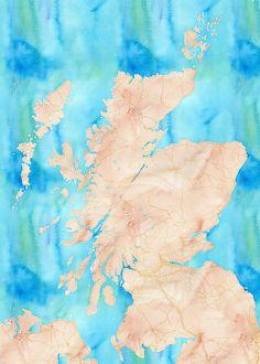 Map Stack | Stamen Design Scotland