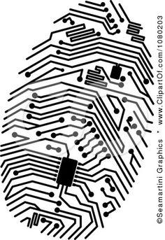 1080203-Clipart-Black-Circuit-Finger-Print-Royalty-Free-Vector-Illustration.jpg (309×450)
