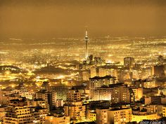 Tehran, Iran. One day I hope to visit, and see where my Father grew up. A dream would be if he and I could go together.
