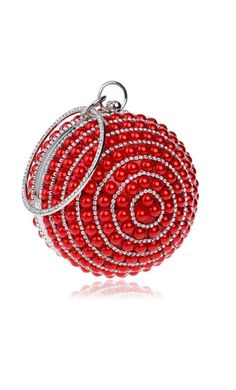 Pearl Ball Shaped Handle Bag (5 Colors Available) c58a62669512