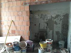 10FEB17 New wall between bedroom #3 and 2nd bathroom
