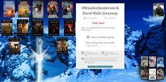 #BrandonSanderson & David Wells Giveaway