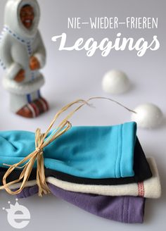 Schnittmuster: warme Leggings / Skiunterwäsche für Kinder nähen Winter Leggings, Sewing For Kids, Baby Sewing, Sew Baby, Baby Clothes Patterns, Sewing Patterns, Kids Mode, Winter Baby Clothes, Diy Clothes