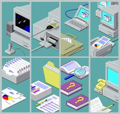 I simply couldn't help but admire the illustrations that the various Windows 95 & 98 installers and wizards display. Steven Universe, Social Media Art, Windows 95, Vaporwave Art, Old Computers, Retro Aesthetic, Looks Cool, Computer Science, Urban Art