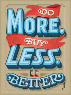 Great custom type poster by Erik Marinovich.