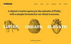 A digital creative agency in the suburbs of Philly with a simple formula for success. Listen. Create. Elevate.