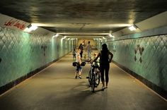 Spreetunnel Berlin Köpenick  - Müggelsee