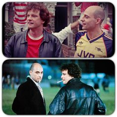 Colin Firth & Mark Strong FEVER PITCH