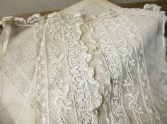 Antique lace...I'll never, ever have enough