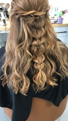 If you should be trying to find hairstyles that can allow you to comfortable while Dance Hairstyles, Quick Hairstyles, Wedding Hairstyles, Messy Braided Hairstyles, Reign Hairstyles, Hairstyles Videos, Blonde Hairstyles, Hairstyles 2018, Bridesmaid Hair