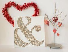 Ampersand Thumbtack Art