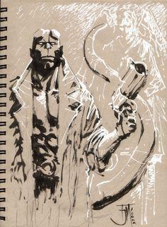 Hellboy by Francis Manapul