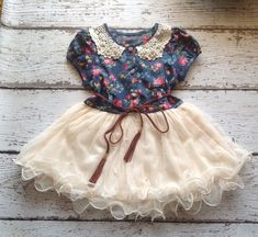 1b84dddbfc3 Size 4 5 Ivory Toddler Girl Tutu Dress