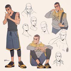 691 отметок «Нравится», 4 комментариев — @metsuart в Instagram: «#characterdesign #mycharacter #character #myart #concept #conceptart #art #sketch #emotions…»