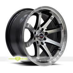 Spec 1 Spec Trak 8 Finish: Machined Black More Info: http://www.wheelhero.com/customwheels/Spec-1/Spec-Trak-8-Machined-Black