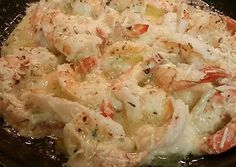 Garlic Lemon Butter Parmesan Shrimp Recipe -  Yummy this dish is very delicous. Let's make Garlic Lemon Butter Parmesan Shrimp in your home!