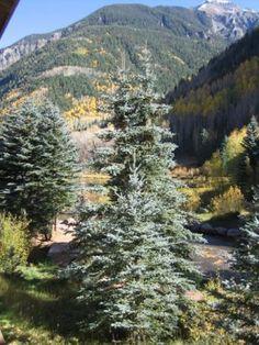 Telluride, CO: For comfort and convenience, Ghostrider #4 is the ticket! With the San Miguel River flowing right outside the unit, and incredible sunset views of the... Vacation Rental