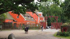Entree van Jaegersborg Dyrehave.