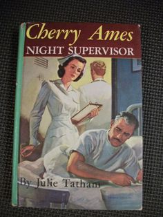 1950 Hard Cover Edition Cherry Ames Night Supervisor by Julie Tatham