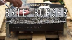 BRIE BURGER on GORENC BEEFER GRILL