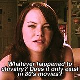 Easy A... I love how many references there are to all the great John Hughes movies
