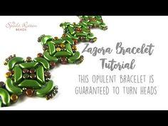 Zagora Bracelet Tutorial - YouTube