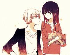 Last Game, one of my fav manga Manga Couples, Cute Anime Couples, Last Game Manga, Comic Style Art, Real Anime, Manga Cute, Anime Recommendations, Manga Books, Anime Love Couple