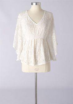 Crochet Boho Blouse > Delia's