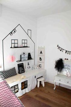 Kids room ideas – Home Decor Designs Diy Home Decor Bedroom, Playroom Decor, Baby Bedroom, Kids Decor, Kids Bedroom, Ikea Stuva, Kids Play Spaces, Kids Corner, Girl Room