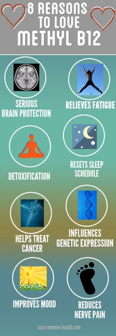 Six reasons to love Vitamin B12