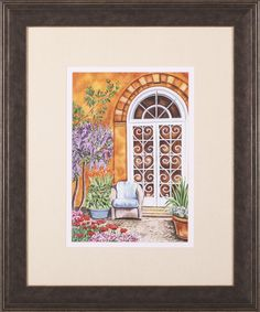 Tuscan Veranda I by Carolee Vitaletti Framed Painting Print