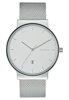 2b1bece61ef Skagen ANCHER - Zegarek - silver-coloured za 749 zł (03.02.17)