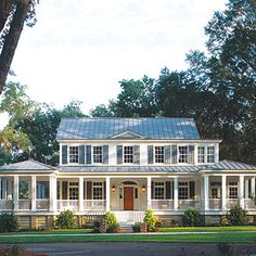 Top 12 House Plans of 2014 | Carolina Island House Plan