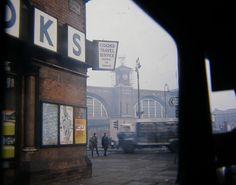 Kings Cross 1969 via Vintage London, Old London, London City, London Pictures, London Photos, London History, British History, London Transport, London Places