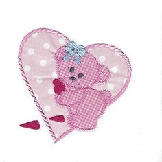 Bears In Love - Free Instant Machine Embroidery Designs