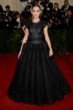 Met Gala or Zac Gala? Maggie Q, Dress by Zac Posen Trend Report by Elena Cattalani HerCityLifestyle