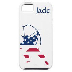 USA Archery American archer flag iPhone SE/5/5s Case - diy individual customized design unique ideas